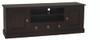 TASMANIA 2 DOOR 3  DRAWER ENTERTAINMENT UNIT (SB 203 PN) -  600(H) x 1600(W)- CHOCOLATE