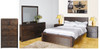 ASIDA QUEEN 6 PIECE  (THE LOT)  BEDROOM SUITE  ( MODEL - 2-21-3-3-15-12-9-36PC)