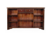 FABULOS  1250(H) * 1800(W) BOOKCASE WITH 2  DRAWER -  ( MODEL-16-9-14-14-1-3-12-5 )  - HAZELNUT