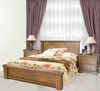 DONSILIA  QUEEN 3 PIECE  BEDSIDE BEDROOM SUITE  ( MODEL- 11-1-11-1-4-21 ) - RUSTIC