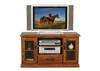 DROVER TV ENTERTAINMENT UNIT - 675(H) x 1200(W) - RUSTIC BLACKWOOD