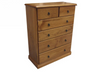SIERRA (CSA306) 6 DRAWER TALLBOY (AUSSIE MADE) (MODEL 19-1-22-1-14-14-1-8) -  1180(H) X 950(W)- ASSORTED COLOURS AVAILABLE