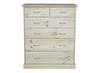 AVOCA CAV306 6 DRAWER TALLBOY - 1180(H) X 950(W)- ASSORTED COLOURS AVAILABLE