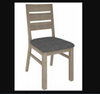 HIGHLAND  DINING CHAIR WITH FABRIC SEAT (3-8-1-20-5-1-21)
