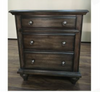 RUDEN   QUEEN   3 PIECE  BEDSIDE   BEDROOM SUIT    (8221) BED WITH 2 FOOTEND DRAWERS  (MODEL - 7-5-15-18-7-9-1) - BURNISHED CHERRY