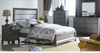 MIDASCO   QUEEN   5 PIECE  DRESSER  BEDROOM SUIT  (612)    (MODEL - 10-13-19-12-25-14) - GREY