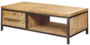 CEMBER  WITH DRAWER HARDWOOD COFFEE TABLE -  1300(W X  700(D) -  ( 16-15-18-20-12-1-14-4)
