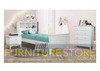 KING SINGLE ENDLESS BOOKEND BED ( 3-8-12-15-5) - BRIGHT WHITE