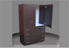 SUPERIOR FINISH 800 ADULTS WARDROBE (CW800-D4DRW) 2 DOOR / 4 DRAWER WITH METAL RUNNERS - 1800(H) X 800(W) -   ASSORTED COLOURS AVAILABLE