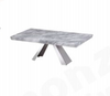 HONDI MARBLE COFFEE TABLE - 1250(W) X 700(D) - (MODEL 3-1-19-1) - GREY