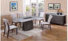CAPE (9003) DINING TABLE 1800(L) X 900(W) - (MODEL-12-25-15-14) - GREY