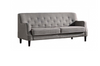 VERONA   THREE (3)  SEATER  FABRIC LOUNGE -  GREY