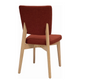 GOYA FABRIC DINING CHAIR - MUD