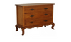 FRENCH PROVINCIAL 3 DRAWER  SIDEBOARD (SB 003 FP)-  850(H) X 1080(W)   - LIGHT PECAN