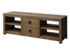 VIENNA 2 MIDDLE DRAWER ENTERTAINMENT UNIT (SB 042 VIE) -500(H) x 1600(W) - NATURAL TEAK