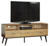 APOLLO TV ENTERTAINMENT UNIT - 530(H) x 1400(W) - GREY WASH