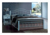 DOUBLE CRYSTAL BED - WHITE
