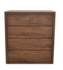 ALICIA KING 4  PIECE TALLBOY BEDROOM SUITE  - WITH BAILEE/CASEY CASEGOODS - ANTIQUE OAK