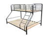 SINGLE COMMERCIAL TRIO SAFETY BUNK BED - AUSTRALIAN MADE (MODEL: BT-TRIO) - ASSORTED COLOURS