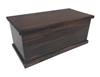 NOOSA (SB3) 900 STORAGE BOX - ALL SMOOTH - 480(H) x 950(W)  x 420(D) - WALNUT