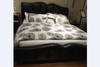 KING CHICAGO (MODEL:N9811) LEATHERETTE  BED - ASSORTED COLOURS