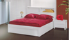 DOUBLE NEW YORK GAS LIFT STORAGE BED (MODEL: 32) -  HI GLOSS WHITE