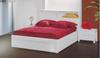 NEW YORK 2 DRAWER BEDSIDE TABLE (MODEL:32) -  HI GLOSS WHITE