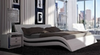 KING SIMON LEATHER + PVC BED (MODEL- C315) - ASSORTED COLOURS