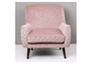 HANK (GK16026) SINGLE SEATER SOFA CHAIR - LIGHT PINK