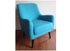 EDWARD (GK16026) SINGLE SEATER SOFA CHAIR - BLUE