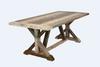DETRIOT 2000(L) REFECTORY TABLE - DISTRESSED MULTI - DISCONTINUED - 24.5.21 - E