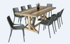 DETRIOT 2000(L) REFECTORY TABLE - DISTRESSED MULTI