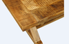 FOUNDRY 4 LEGGED TABLE ONLY 1760(L) x 900(W) - RUSTIC MANGO