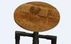 INDUSTRIE STOOL - 500(H) X 350(W) -RUSTIC MANGO