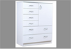 FAIRMONT  6 DRAWER NURSERY - 1060(H) X 900(W) - ASSORTED COLOURS AVAILABLE