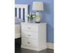 CHARLESTON (18-9-22-5-18-23-15-15-4) BEDSIDE TABLE - ASSORTED PAINTED COLOURS