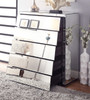 DURANGO  KING 4 PIECE TALLBOY  BEDROOM SUITE WITH MATCHING CASE GOODS  - WHITE /  MIRROR