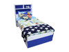 KING SINGLE TAKIS BED WITH KING SINGLE TRUNDLE - PRICED IN ASSORTED COLOURS (VIC ASH AND PINE OPTIONS ALSO AVAILABLE - PRICE ON APPLICATION) - CUSTOMISATION  AVAILABLE