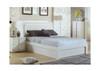 HANSON 2  DRAWER BEDSIDE TABLE  (MODEL:LS 111 BS) - HIGH GLOSS WHITE