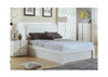HANSON  DOUBLE  OR QUEEN 4 PIECE TALLBOY  BEDROOM SUITE (MODEL-LS 111) (GAS LIFT OR SIDE DRAWER OPTIONS AVAILABLE) - HIGH GLOSS WHITE