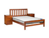 KING SINGLE FLETCHER BED ONLY  COLOUR AS PICTURED