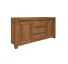 ALPINE SIDEBOARD  BUFFET  WITH 2 DOOR & 3 DRAWER   850(H) x 1700(W) - GOLDEN WALNUT