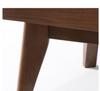 NJORD  BEDSIDE TABLE WITH DRAWER - WALNUT