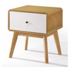 MAGNI BEDSIDE TABLE WITH DRAWER -2 TONE