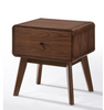 MAGNI BEDSIDE TABLE WITH DRAWER - WALNUT