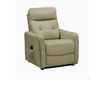 HARLOW 1 MOTOR LIFT FABRIC RECLINER CHAIR- GREY