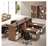 HARVEY WORKSTATION DESK & LEFT RETURN  -1200(H) X 1720(W) - TWO - TONE