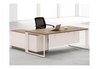 BRODY EXECUTIVE OFFICE DESK WITH LEFT RETURN - 760(H) x 1800(W) - TWO TONE