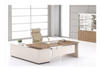 WILDER EXECUTIVE OFFICE DESK WITH LEFT RETURN -760(H) X 1800(W)  - TWO TONED