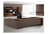 WESTON EXECUTIVE OFFICE DESK WITH LEFT RETURN -   760(H) X 2200(W)  - TWO TONED